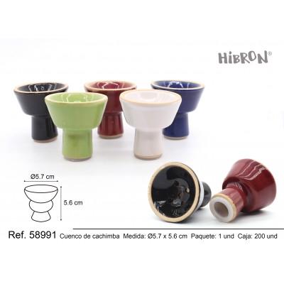 cuenco para cachimba de cerámica pequeño 58901-58902-58903-58904-58905-58906