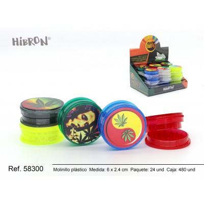 480-24p-Plastico molinillo para fumar 3F 208