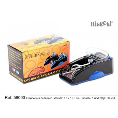 entubadora eléctrica de tabaco 7,5cm x 15,5cm