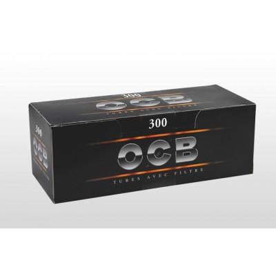 TUBOS OCB NEGRO 300, CAJA DE 300 TUBOS, 1x4