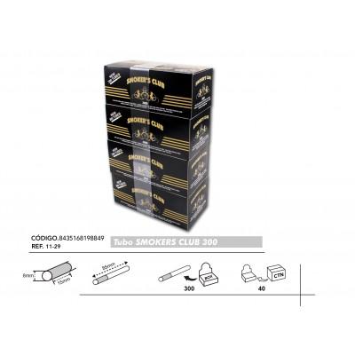 TUBOS SMOKERS 300, CAJA DE 300 TUBOS, 1x4