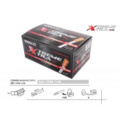 TUBOS XTRA 1100 FILTRO EXTRALARGO, CAJA DE 1100 TUBOS, 1x1