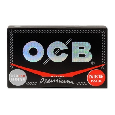 OCB PREMIUM, BLOC 500, BLOC DE 500 HOJAS