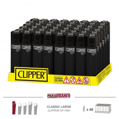 CLIPPER CP11RH, SOFT TOUCH ALL BLACK, 1x48