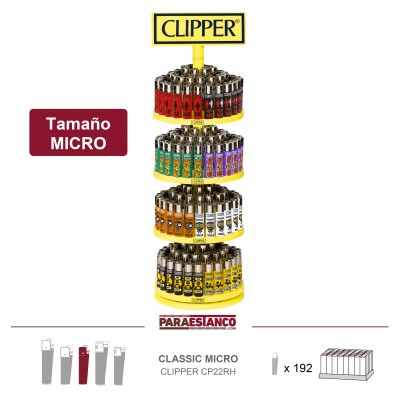 CLIPPER MICRO CP22RH, MIX IBERIA, 1x192