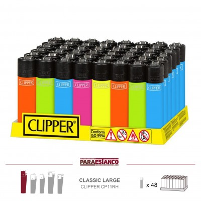 CLIPPER CP11RH, SOLID FLUO, 1x48