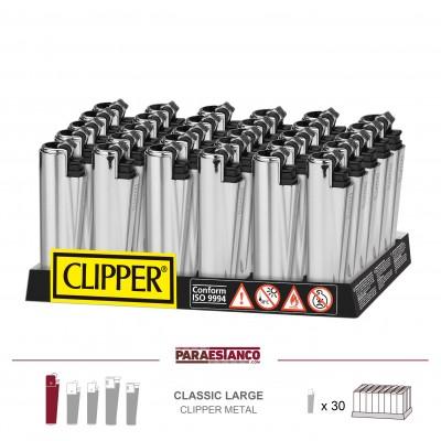 CLIPPER MICRO FUNDAS CP22RH, SILVER, 1x30