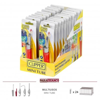 CLIPPER MULTIUSOS MINI TUBE, BISTER CLASSIC COLOURS, 1x24