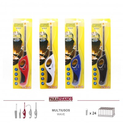 CLIPPER MULTIUSOS WAVE, BISTER CLASSIC COLOURS, 1x24