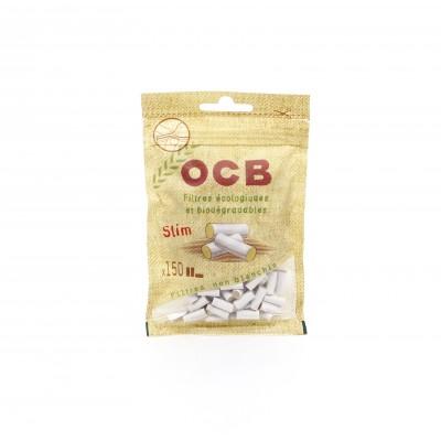 OCB FILTRO ORGANICO SLIM 6MM, BOLSA DE 150 FILTROS