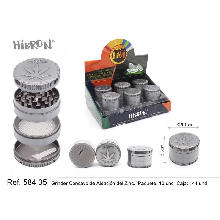 HIBRON, Grinder Molinillo metalico,58435, 1x6