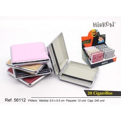 Ref: 56112 Estuche metalico para tabaco