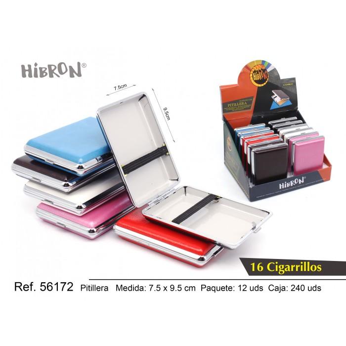 Ref: 56172 Estuche metalico para tabaco
