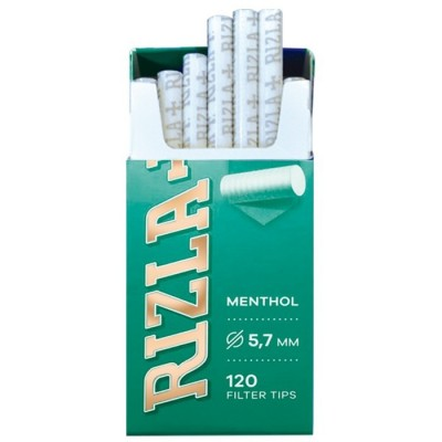 RIZLA Fitros MENTHOL ultra slim 5.7mm en sticks 20x120 FILTROS