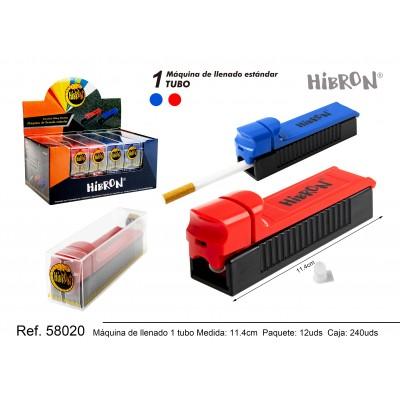 HIBRON, Maquina de 1 tubo,58020,1x12
