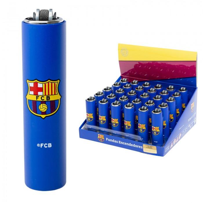 Clipper micro funda metálica 30pcs FCB Barcelona 1x30 Oficial