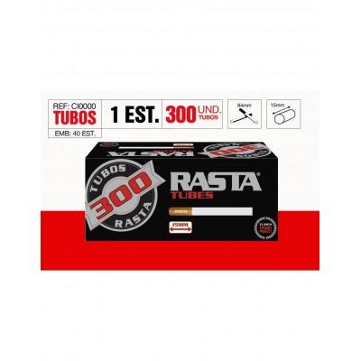 TUBOS RASTA 300, CAJA DE 300 TUBOS, 1x4
