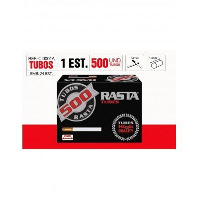 TUBOS RASTA 500, CAJA DE 500 TUBOS, 1x2