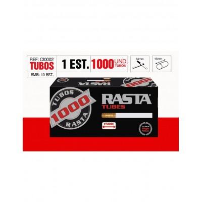 TUBOS RASTA 1000, CAJA DE 1000 TUBOS, 1x1
