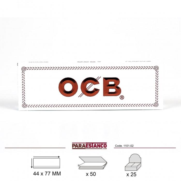 OCB BLANCO 1¼, LIBRITO DE 50 HOJAS