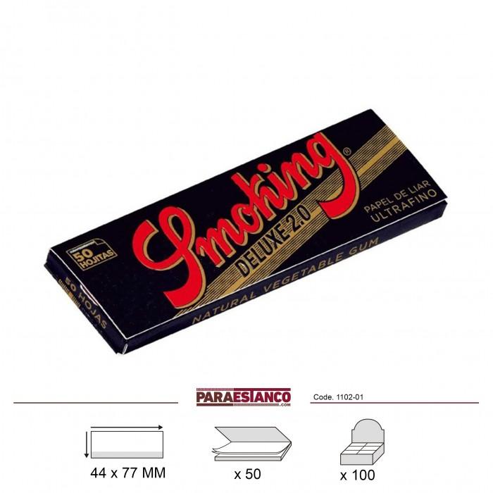 SMOKING DELUXE 1¼, LIBRITO DE 50 HOJAS