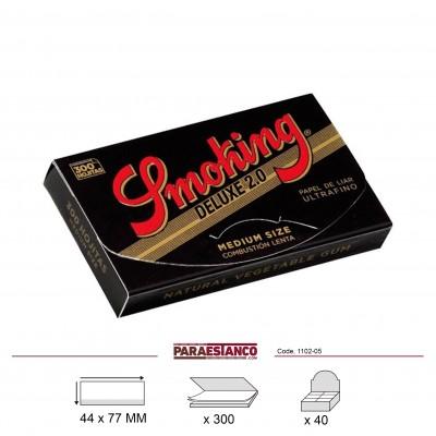 SMOKING DELUXE 1¼ BLOC 300, BLOC DE 300 HOJAS