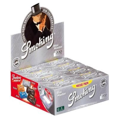 SMOKING MASTER SILVER 1¼ BLOC 200, BLOC DE 200 HOJAS