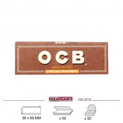 OCB VIRGIN Nº1, LIBRITO DE 50 HOJAS