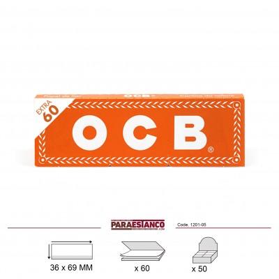 OCB NARANJA No1, LIBRITO DE 60 HOJAS