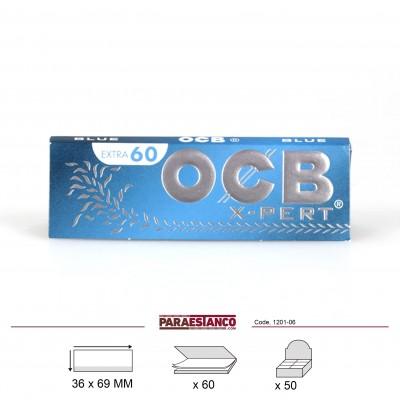 OCB X-PERT AZUL No1, LIBRITO DE 60 HOJAS