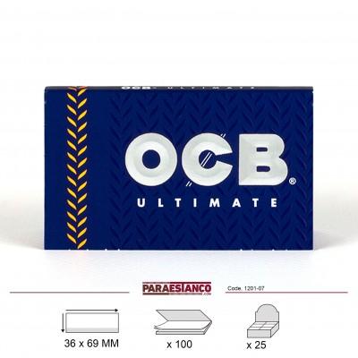 OCB ULTIMATE DOBLE No4, LIBRITO DE 100 HOJAS