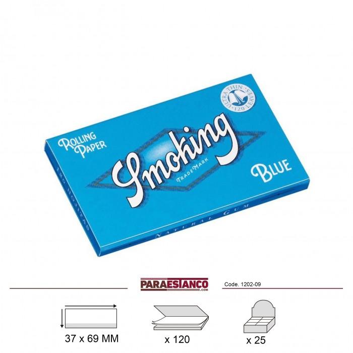 SMOKING BLUE DOBLE, LIBRITO DE 120 HOJAS