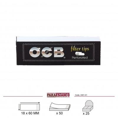 OCB FILTRO TIPS, LIBRITO DE 50 FILTROS