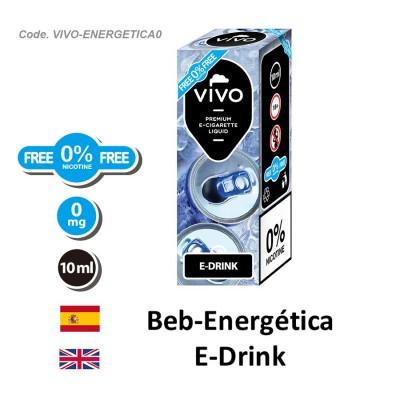 E-Liquido VIVO Bebida energetica sin nicotina (10ML)