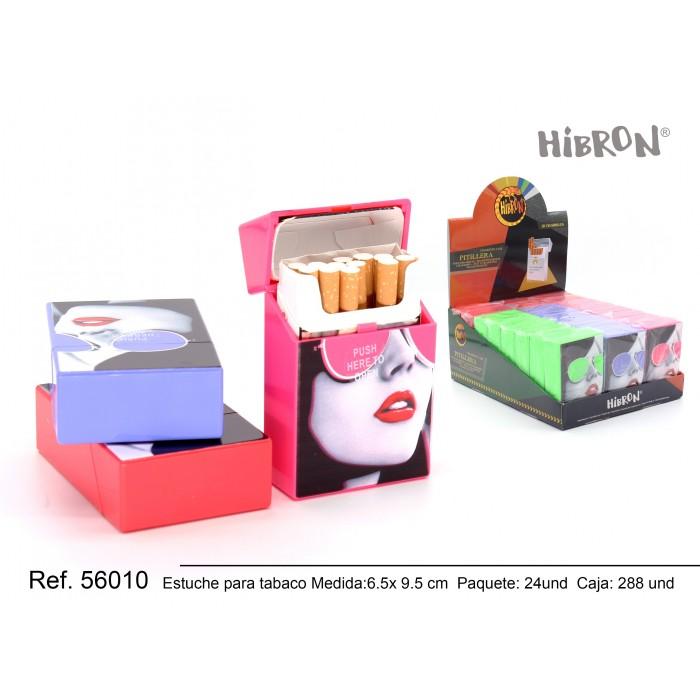 Ref: 56010 Estuche de plastico para tabaco gafas