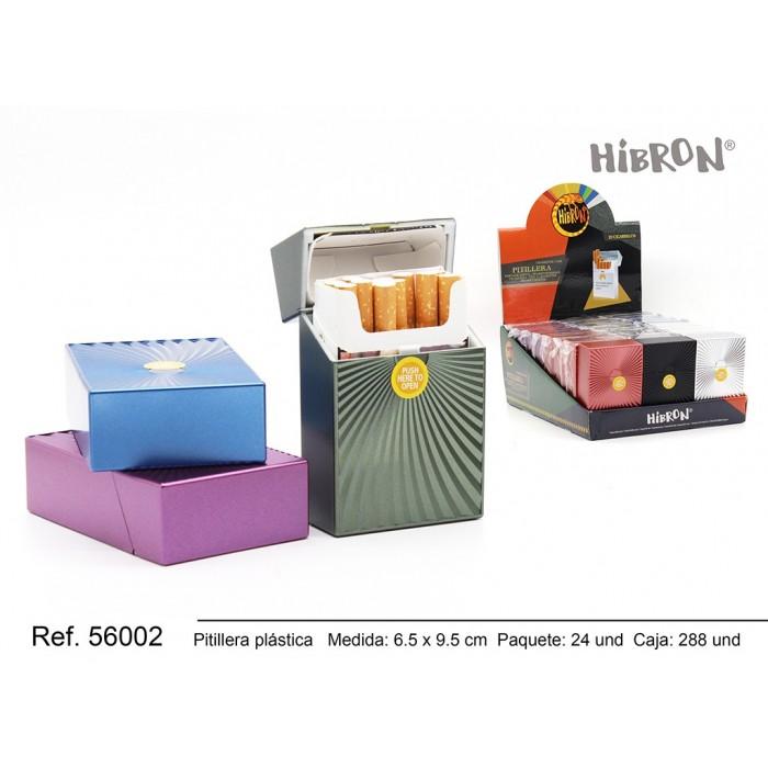 Ref: 56002 Estuche de plastico para tabaco