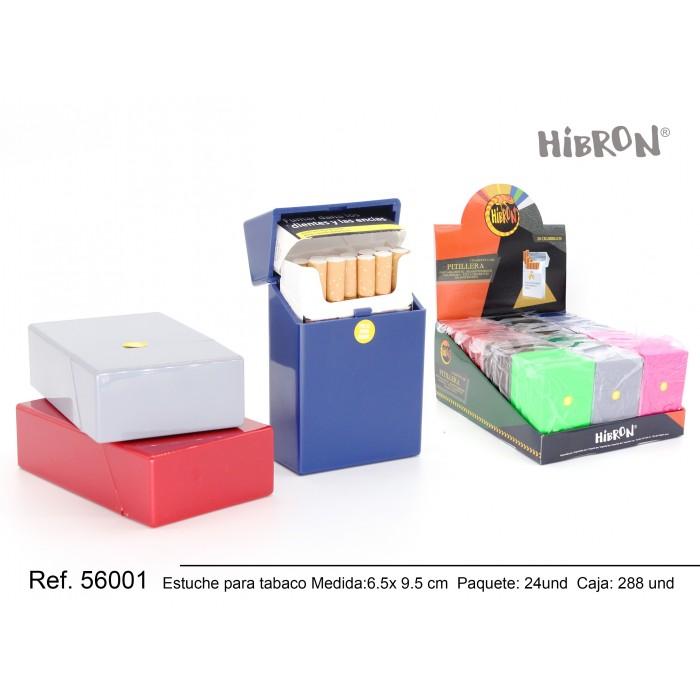 Ref: 56001 Estuche de plastico para tabaco liso