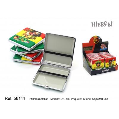 Ref: 56141 Estuche metalico para tabaco