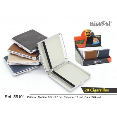 Ref: 56101 Estuche metalico para tabaco