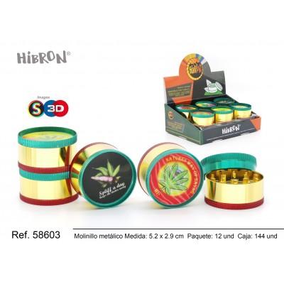 Ref: 58603 Grinder Molinillo 3F-52x29mm 024FC 3D