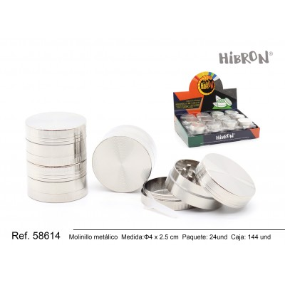 Ref: 58614 Metal molinillo para fumar 003-B