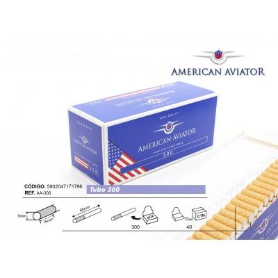TUBOS AMERICAN AVIATOR 300, CAJA DE 300 TUBOS
