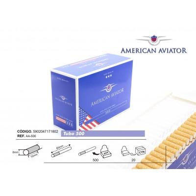 TUBOS AMERICAN AVIATOR 500, CAJA DE 500 TUBOS
